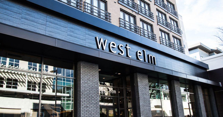 West-Elm storefront